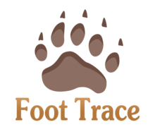 Foot Trace Logaster Logo