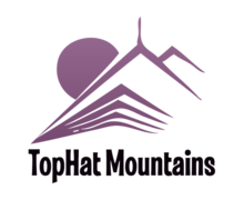 Top Hat Mountains Logaster Logo