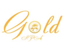 Gold Spa Logaster Logo