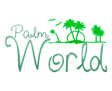Palm World Logaster Logo
