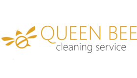 Queen Bee Cleaning Logo