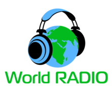 World Radio Logaster Logo