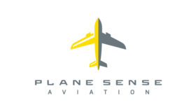 Plane Sense Aviation Logo