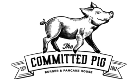 Committed Pig Logo