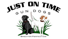Just on Time Gun Dogs Logo