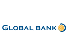 Global Bank Logaster Logo