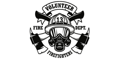 Volunteer Firefighters Logo