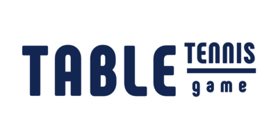 Table Tennis Game Logaster Logo